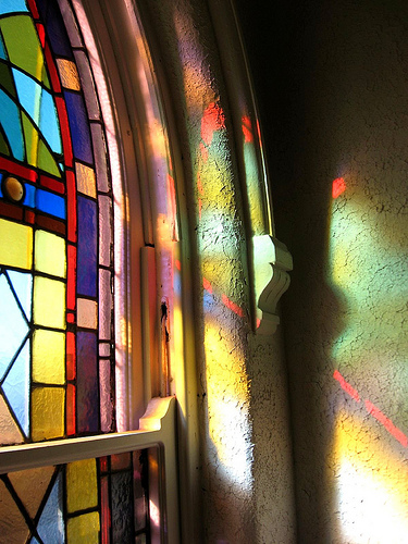 Behind the Stained Glass