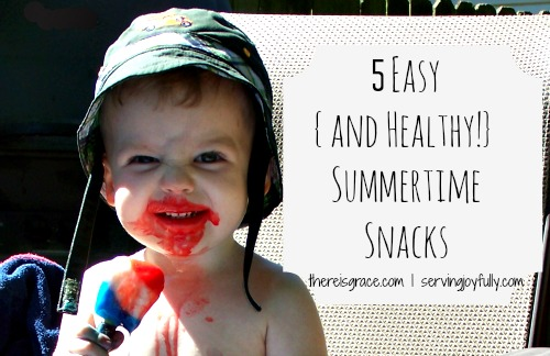summertime snacks