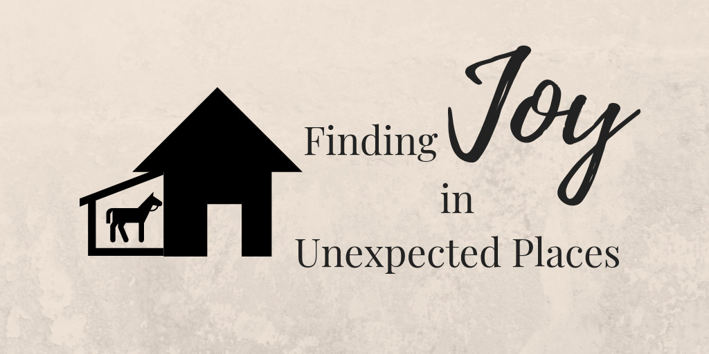 Finding Joy in Unexpected Places | ThereIsGrace.com