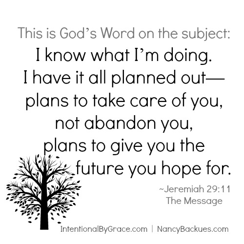 How Cancer Gave Me Unshakable Faith   Jeremiah 29:11, God knows what He's doing!   IntentionalByGrace.com