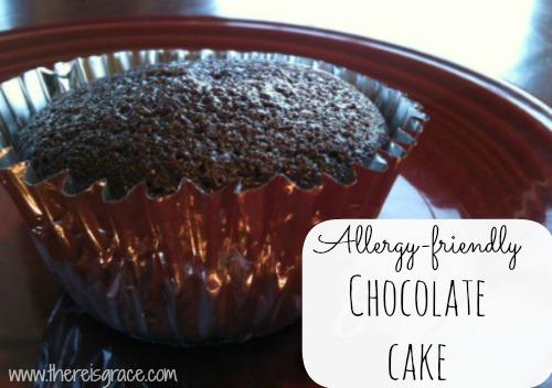 Allergy-Friendly Chocolate Cake