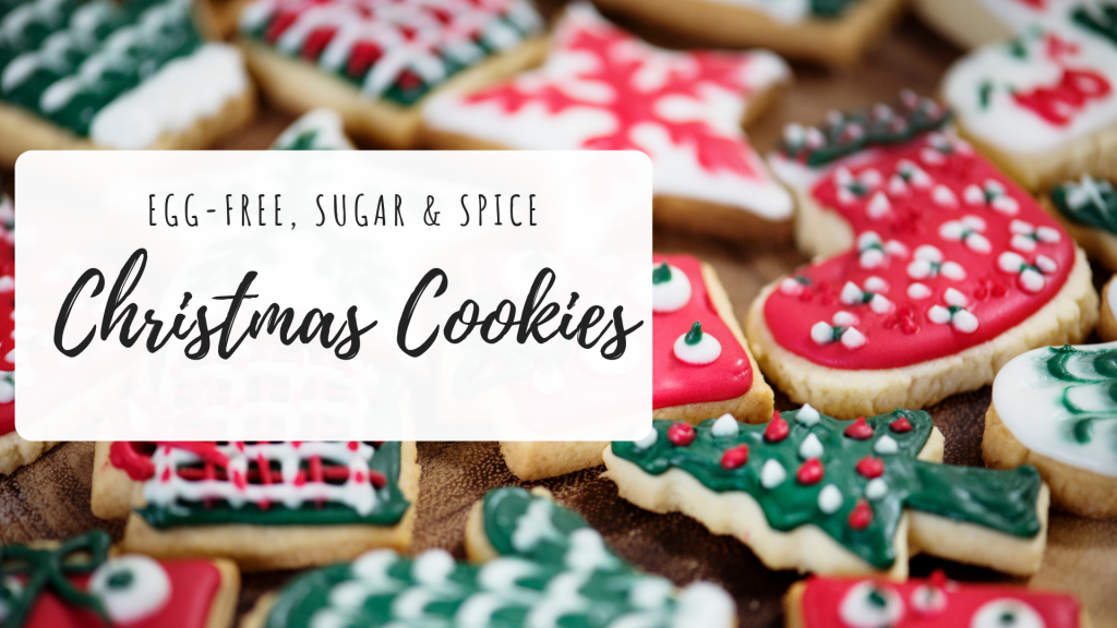 Egg-Free Christmas Cookies