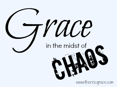 When our world seems the darkest is when God's grace shines the brightest | thereisgrace.com