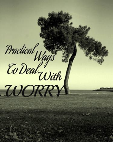 5 Ways to Turn Worry Around | www.thereisgrace.com